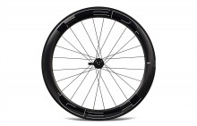 HED JET 6 BLACK CLINCHER REAR WHEEL