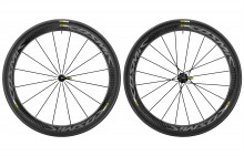2017 MAVIC COSMIC PRO CARBON EXALITH CLINCHER WHEELSET
