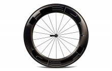 HED JET 9 BLACK CLINCHER REAR WHEEL