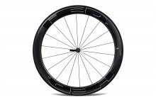 HED JET 6 BLACK CLINCHER FRONT WHEEL