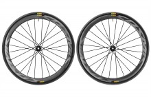 2017 MAVIC COSMIC PRO CARBON SL DISC CLINCHER WHEELSET